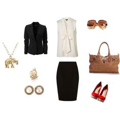 Work Outfit, created by isis-314 on Polyvore