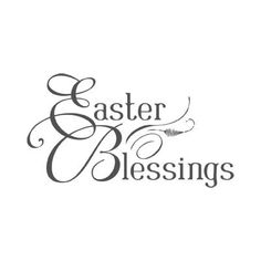 May Your  Easter be a time of reflection.... the good lord took it all for you and me ... put your faith in him ... he will prevail !!???..... amen ...OOOOoooo  : c )