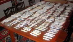 I collect 1:1250 scale waterline models of ocean liners and cruise ships. I have about 300 models
