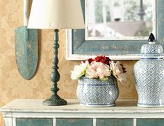 I pinned this from the Stonestreet Green - Country Chic & Eclectic Accents, Pillows, Lamps & More event at Joss and Main!