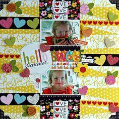 Hello Sweet Summer by Jodi Wilton for #BellaBlvd #SummerSqueeze