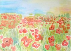 Remembrance day Poppies field Poppy Flander's Field Remembrance Day Poppy, Anzac Day, Art School, School Stuff, World War One, Veterans Day, Elementary Art, All Art, Special Day