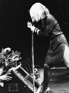 Deborah Harry!!!!! If you don't know her by her name, you need to reevaluate your life. Lol