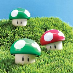 Nintendo Super Mario Bros. Mushroom Apple or Cherry - $5.98 (iOffer)