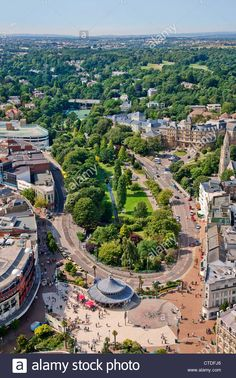 Aerial view of Bournemouth City Centre, Dorset, England City Photography, Drone Photography, Bournemouth England, Dorset Coast, City By The Sea, History Of England, Photo Images, London Life, London Wedding