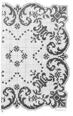 This Pin was discovered by Öze Filet Crochet Charts, Crochet Cross, Crochet Diagram, Knitting Charts, Thread Crochet, Crochet Motif, Crochet Patterns, Funny Cross Stitch Patterns, Cross Stitch Borders