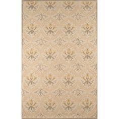 Hand-Tufted Olivia Beige Wool Rug (8' x 10')