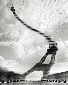 Optical Distortion by Robert Doisneau