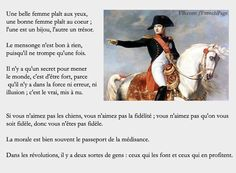 Citations de Napoléon Bonaparte