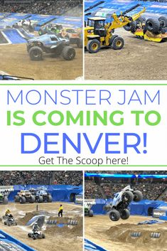 Monster Jam is circling back through Denver this weekend and I am so excited to share all the fun and excitement with my lucky readers! Colorado Places To Visit, Fast And Loud, Pepsi Center, Family Fun Night, Monster Jam, Ear Plugs, Super Excited, Day Trip, Rocky Mountains