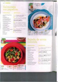 Livro 150 receitas as melhores 2011 Oatmeal, Breakfast, Food, Eggplant, Salads, Book, Ideas, Breakfast Cafe, Essen