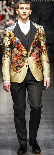 Dolce and Gabbana Mens F/W 15