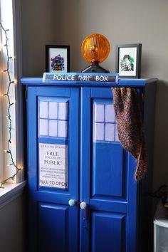 TARDIS cupboard!