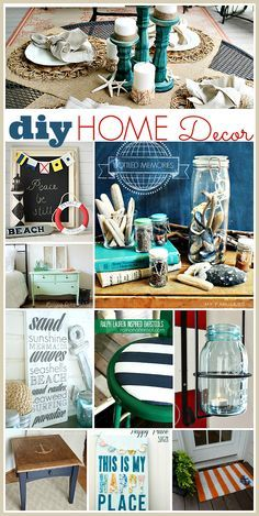 DIY Home Decor for the Summer