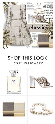 """Classics"" by olga1402 on Polyvore featuring Chanel, GEDEBE, Dennis Basso, Fendi and WardrobeStaples"