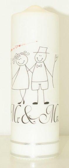 Hochzeitskerze Comicpärchen Mugs, Tableware, Wedding Day, Candles, Dinnerware, Tumbler, Dishes, Mug, Place Settings