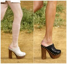 Great Real vs. Steal – Chanel Spring 2010 Clogs updated on August 9, 2013