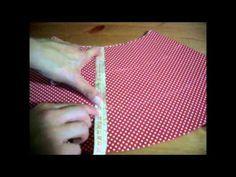 Cómo hacer una falda flamenca