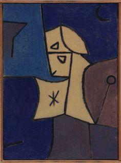 Paul Klee - 'Hoher Wächter' - (1940)