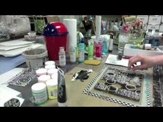 Gelli Tape Goes All The Way! -- Part 1 - YouTube; can't wait to watch this...