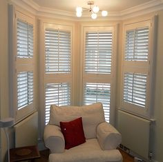 shutters for bay window