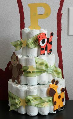 Diaper Crafts | simplicity! It turned out perfect! You could always jazz up a diaper ...