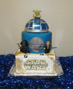 Lego Star Wars Cake?! Wut?!? Where was this 2 months ago?