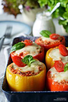 Vegan Ramen, Ramen Noodles, Kids Meals, Grilling, Food And Drink, Stuffed Peppers, Dinner, Vegetables, Cooking