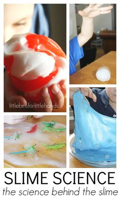 Basic Slime Science Homemade Slime for Kids