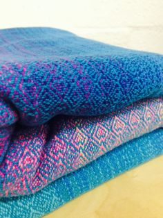 Haigha 4.5 Meters Turquoise Cottolin  by MadHatterWarpedWoven