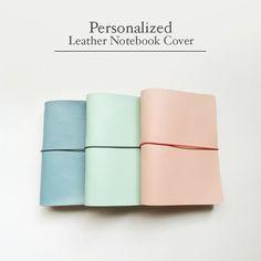 FREE SHIPPING Handmade Leather Traveler's Notebook by Hallubobo