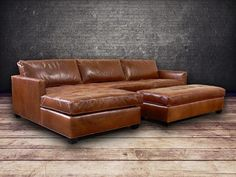 Phoenix 100 full aniline leather sectional for Arizona leather sectional sofa with chaise