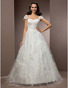Classic & Timeless/Elegant & Luxurious Ball Gown/A-line Swee... – USD $ 199.99