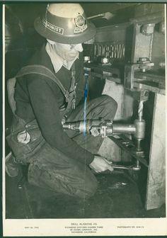 Drill Aligning Jig, Richmond Shipyard Number Three of Kaiser Company, Inc. Richmond, California.  May 26, 1943.   (RORI 1852)