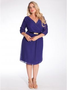 Another Igigi dress with definition at the natural waistline that does not make me look pregnant, like those empire line dresses do. (I wish I could afford Igigi!)
