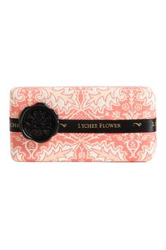 MOR Emporium Black Collection Lychee Flower Soap Bar, $14, available at Nordstrom