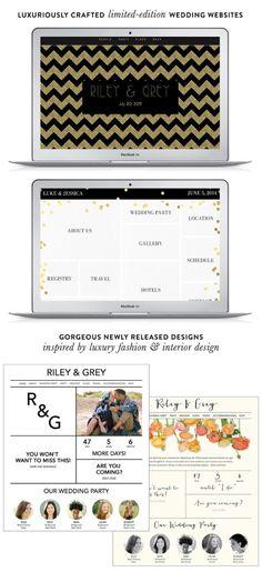 Riley & Grey Wedding Websites + A Discount!