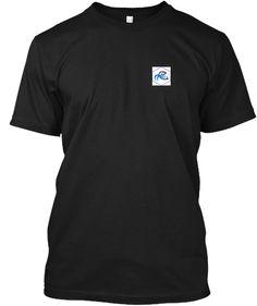 I'm Not Anti Social I'd Rather Be Fishin Black T-Shirt Front