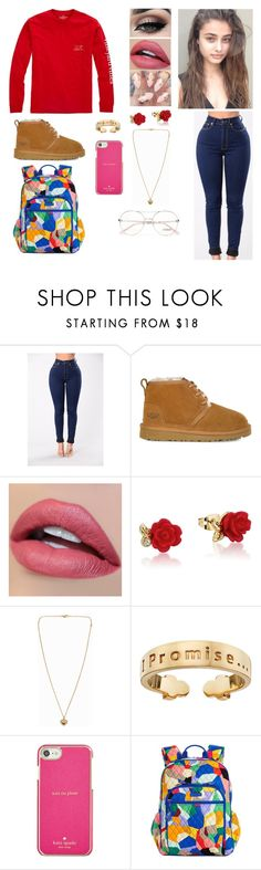 """Vineyard"" by divinemaboundou ❤ liked on Polyvore featuring Vineyard Vines, UGG, Tiger Mist, Disney, Michael Kors, I Promise by Karen R., Kate Spade, Vera Bradley and Chloé"