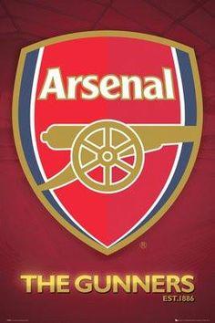Koleksi Gambar Arsenal Logo Sepak Bola Pinterest Crest 24x36 Spt08650