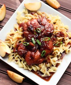 Honey soy plum chicken is so full of flavor and easy to whip up!