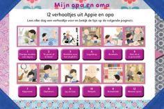 Kinderboekenweek: Mijn Opa En Oma, digibordles voor groep 1 t/m gr 3