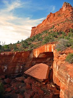 Dry Creek Scenic Road: Photos, information and maps of the Dry Creek Scenic Road area near Sedona, Arizona Arizona Road Trip, Sedona Arizona, Visit Arizona, Arizona Travel, Arizona Usa, Beautiful Places In America, Oh The Places You'll Go, Places To Travel, Places To Visit