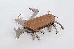 david suhami: animal pocket knife