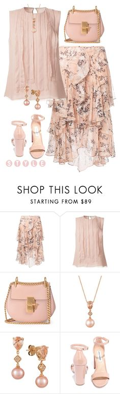 """""""Untitled #1650"""" by amdavis1218 ❤ liked on Polyvore featuring Jason Wu, Chloé, LE VIAN and Steve Madden"""