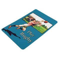 #vintage - #Play Rugby Floor Mat