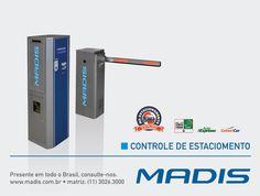 Controlar o fluxo de veículos e acesso em um estacionamento se tornou uma ação bem fácil através do moderno Controle de Estacionamento MADIS. Fundada em 1923, a MADIS possui tradição e reconhecimento em equipamentos para Controle de Estacionamento.