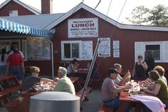 Harraseeket Lunch & Lobster Freeport Maine