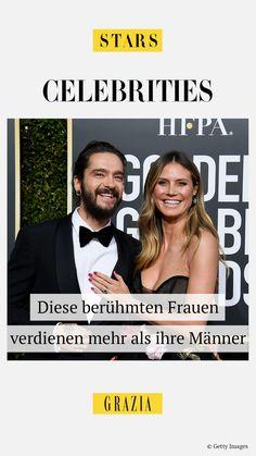Was gibt es in einer anstrengenden Arbeitswoche Schöneres, als sich besonders erfolgreiche Ladies vor Augen zu führen, die sogar noch mehr als ihre reichen Ehemänner verdienen… #grazia #grazia_magazin #stars #paare #celebrities #heidiklum #verdienen #gehalt #money
