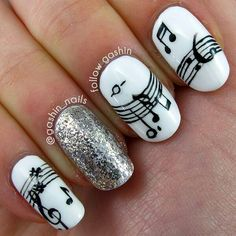 Music Note Nail Decals Great Stocking Stuffer By Bkmvinyldesign